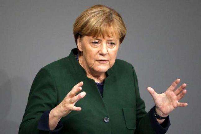 Germany's Merkel says G20 must tackle global steel glut