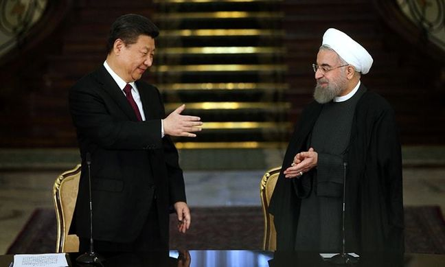 China main exporter and importer of Iranian goods
