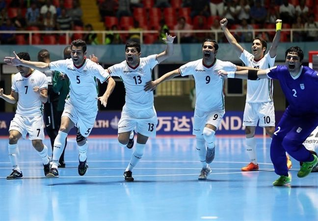 Iran futsal team ranks 1st in Asia