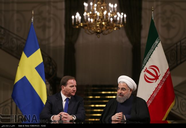 5 cooperation agreements signed between Iran, Sweden