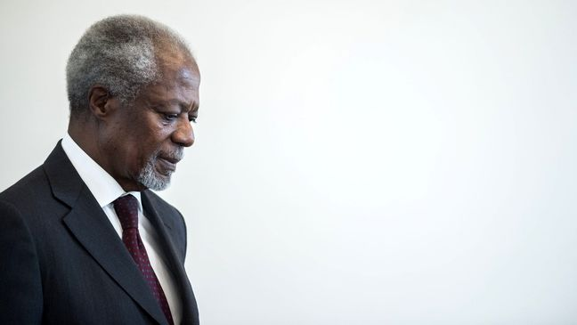 Former U.N. chief and Nobel peace laureate Kofi Annan dies aged 80
