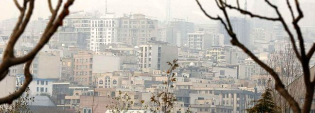 Tehran Gloomy, Polluted in January