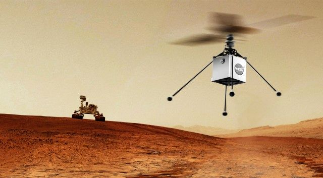 In an interplanetary first, NASA to fly a helicopter on Mars