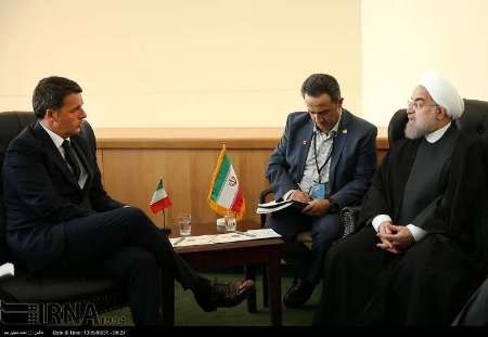 Rouhani: Italy has a chance to become Iran's main European trade partner again