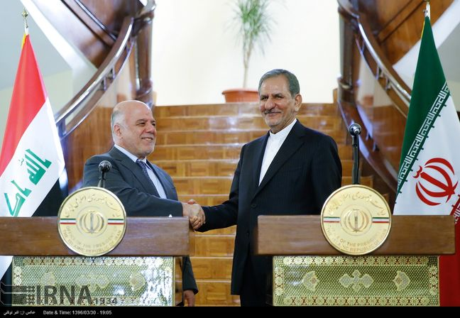 Jahangiri: Iran stands by Iraqi government, nation