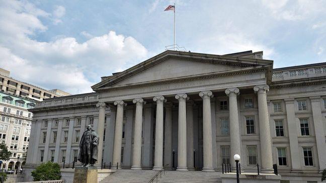 U.S. government posts $107 billion deficit in August