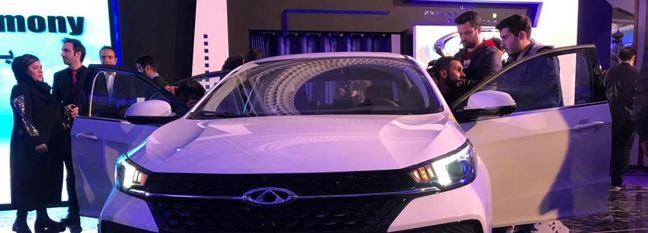 Chery Unveils Arizzo 6 in Tehran