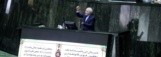 MPs Convinced by Zarif's Answers on Diplomatic Efforts