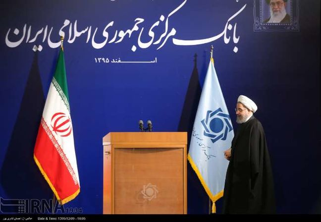 Rouhani: Stabilizing financial markets tops agenda of government