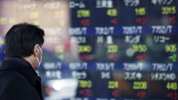 Global shares, dollar retreat on Trump travel ban, weak U.S. GDP