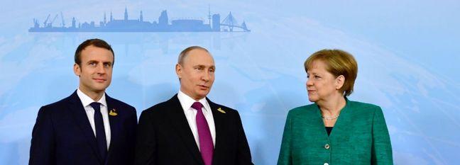 Markel, Macron, Putin Discuss Ways to Protect Nuclear Deal