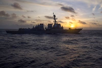 Warship Ruse and New Stealth Missiles: How the U.S. and Allies Attacked Syria
