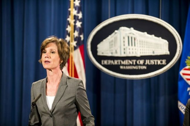 Trump Fires Acting Attorney General Who Defied Migrants Ban