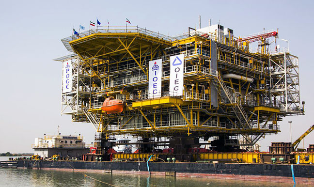 South Pars Phase 14 Capacity to Reach 56 mcm/d