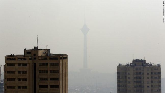 New Measure to Curb Smog in Downtown Tehran