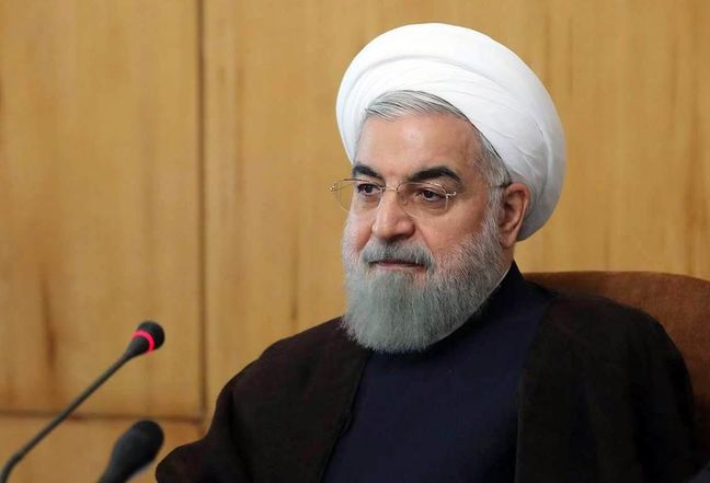 Pres. Rouhani calls on world to reject US aggressive policies