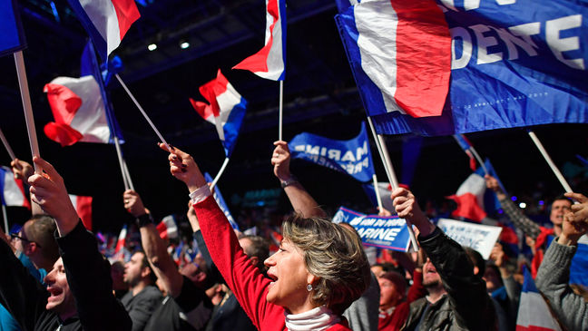 French Voters Get Day of Respite After Roller-Coaster Campaign