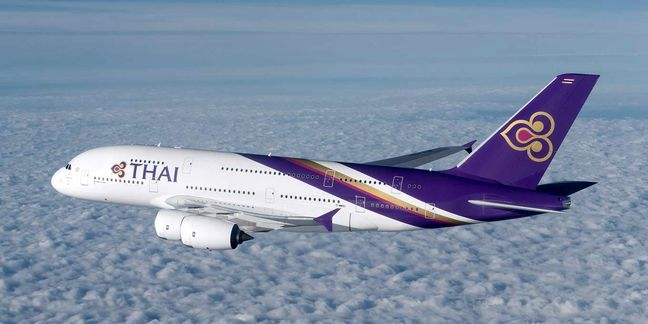 1st Thai passenger plane lands on Imam Khomeini Int'l Airport
