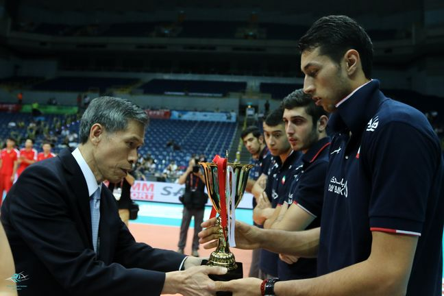 Iran's nat'l volleyball team becomes Asia's champion