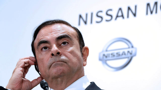 Nissan Shares Down 30% Since Ghosn's Arrest
