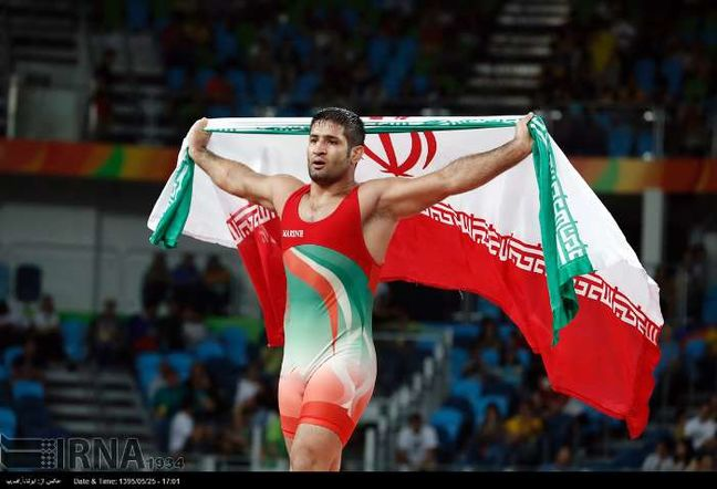 Iranian among world's top Greco-Roman wrestlers