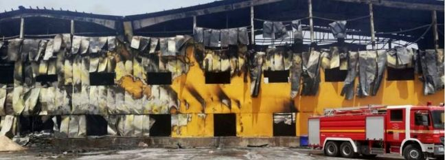 Fire Ravages Major Iranian Dairy Factory in Iraq
