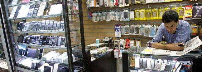 Cellphones' Suitcase Imports Soaring