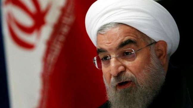 Rouhani pledges to reverse slide of Iran's currency