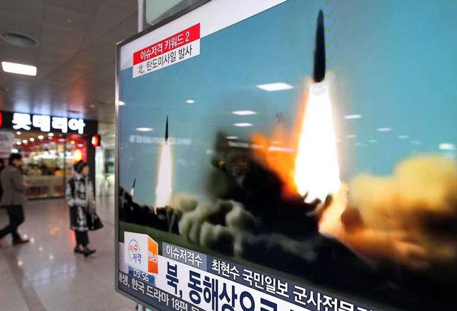 Japan Moves to Highest Alert Level After North Korea Fires Missiles