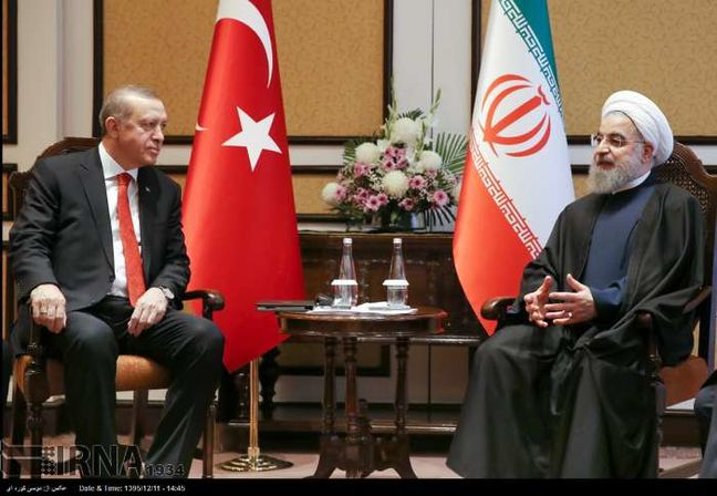 Rouhani, Erdogan discuss bilateral ties, regional developments