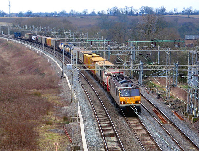 Rail Cargo Transport Breaks Record