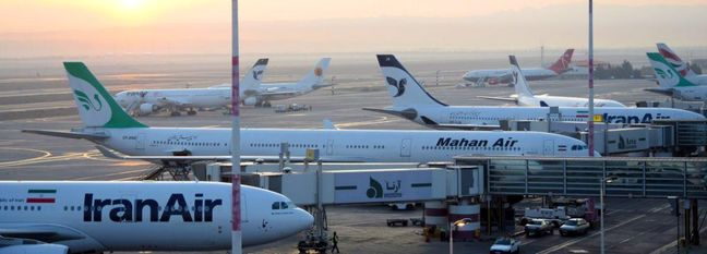 Iran Airport Traffic Down 13%