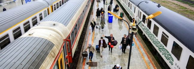 Iran's Q1 Rail Passenger Traffic Decreases by 84 Percent