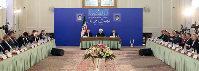 """Rouhani: Iran Determined to Pursue """"Constructive Interaction"""" With World"""