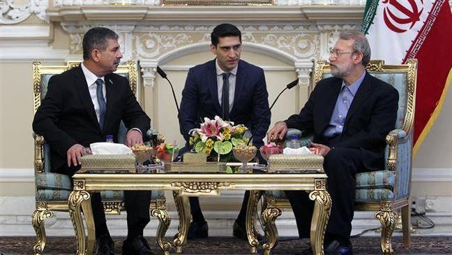 Caspian states must maintain sea's security: Larijani