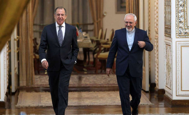 Zarif, Lavrov discuss issues of mutual interest on phone