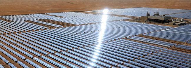 Building Solar Power Plants in Desert Areas Not Feasible