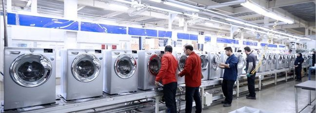 Marked Upsurge in Domestic Home Appliance Production