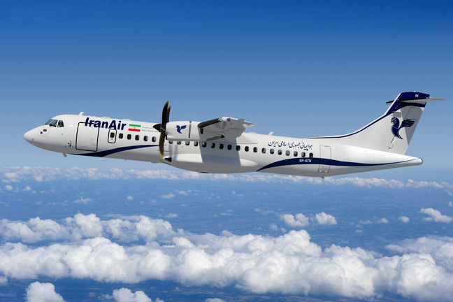 Iran to receive 2 ATR72 passenger planes on Thursday