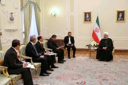 President: Iran welcomes bolstering ties with Indonesia