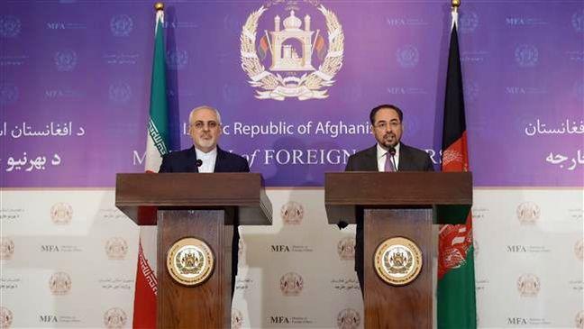 Iran, Afghanistan discuss terror threat as Zarif visits Kabul