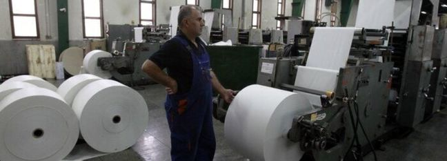 Tissue Production Twice as Much as Domestic Demand