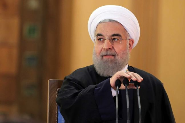 Iran President: Economic Growth Will Prevail Despite US Lawlessness