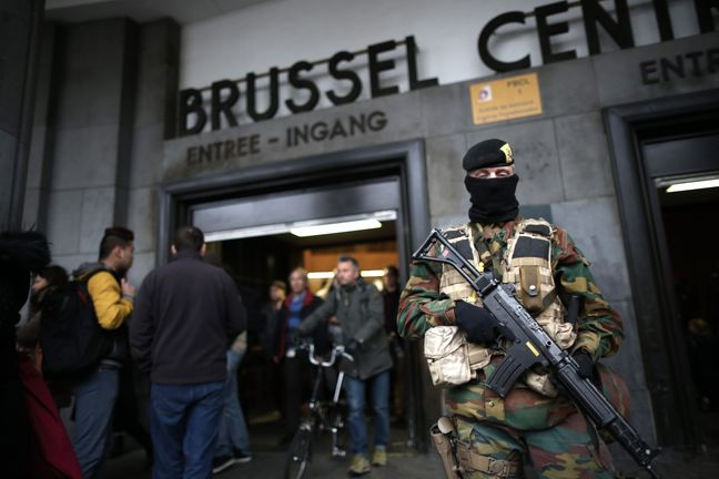 Belgium investigates station bomber shot dead by soldiers