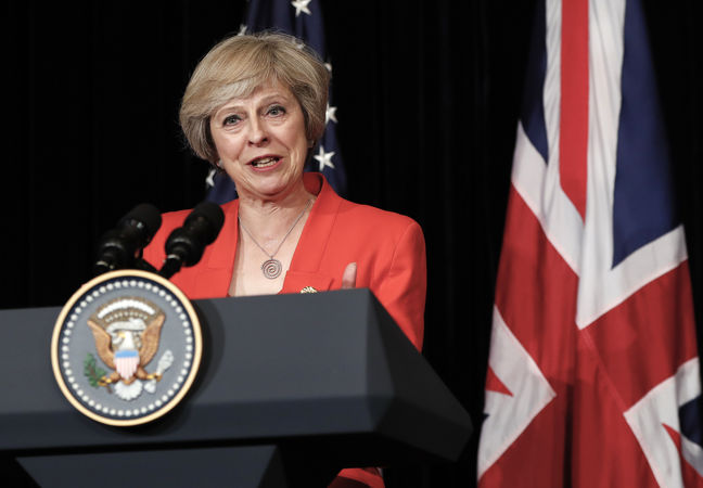 UK's Theresa May to review security risks of Chinese-funded nuclear deal