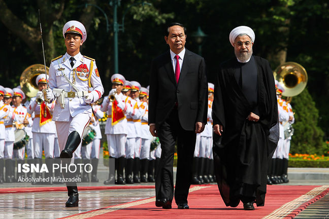 Tehran, Hanoi sign MoU for visa lifting, IT cooperation