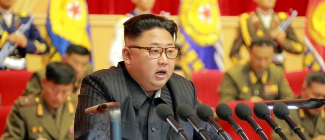 North Korea Slams `Evil' Sanctions, Vows Faster Nuclear Push