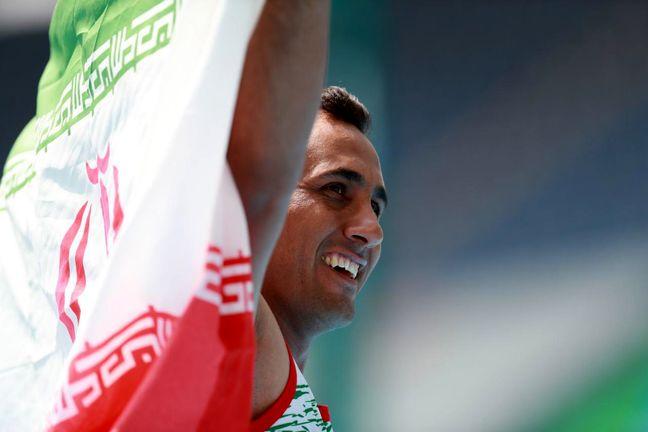 Hardani wins bronze medal at Paralympics