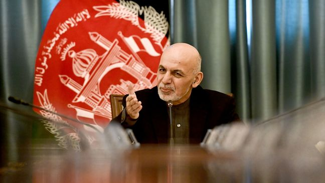 Afghan President Ghani Wins Second Term