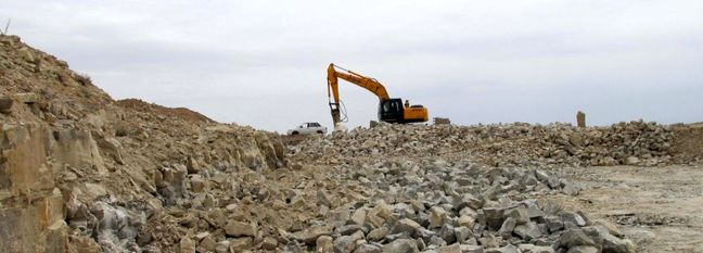 Rubble Stone Accounts for 25% of Iranian Mines